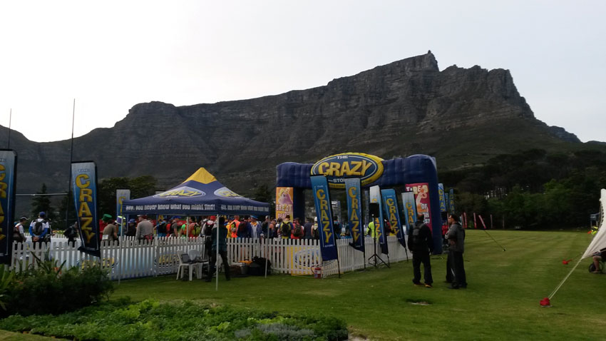 September 2015 Table Mountain Challenge