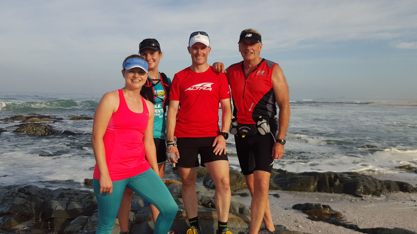 December 2015 Bloubergstrand Year End Trail