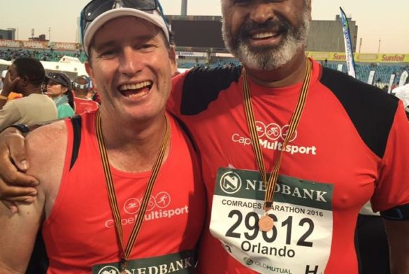 the smile says it all Comrades 2016!